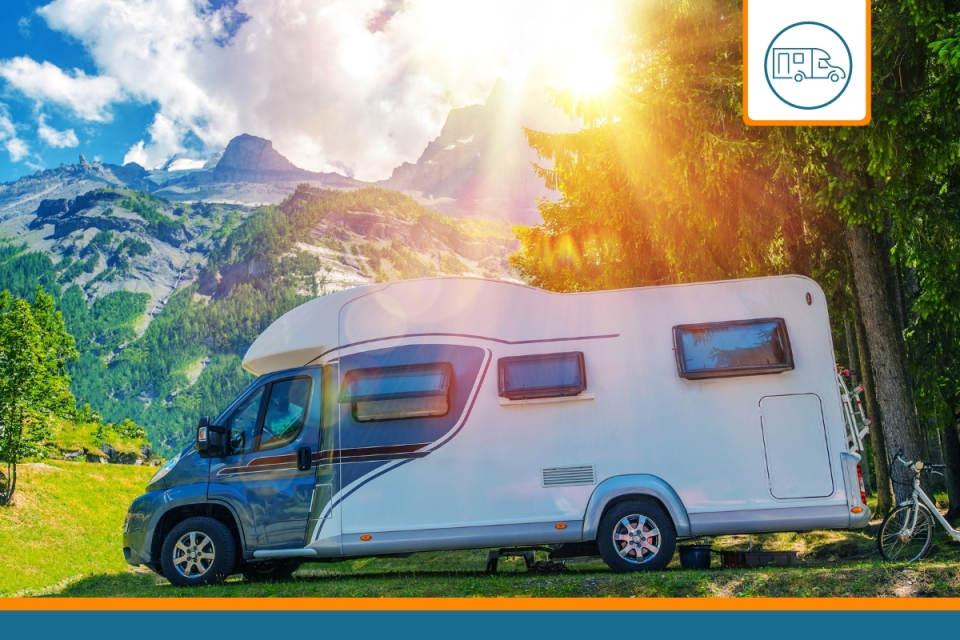 un camping car protégé par une assurance