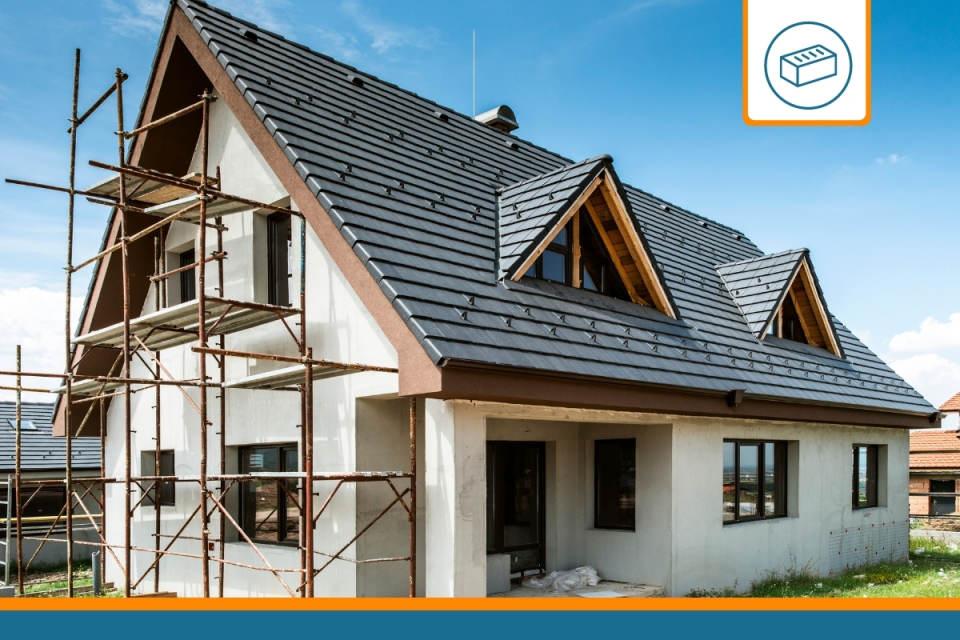maison en construction avec obligation d'assurance dommages ouvrage
