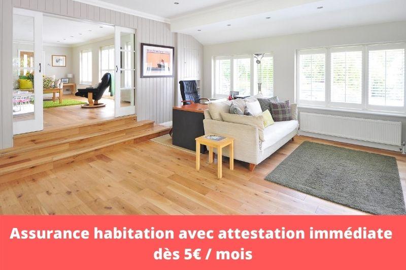 assurance habitation en ligne attestation immediate