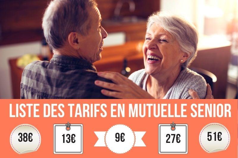 mutuelle senior tarif