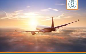 avion réalisant un rapatriement de corps payé par une assurance obsèques