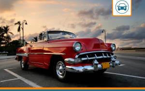 voiture de collection disposant d'une assurance auto dédiée